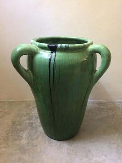 A rare Ceramic Studio Alibaba Floor Vase 1930s