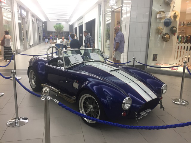 Blue AC Cobra