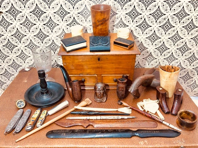 Extensive Collection of Anglo-Boer War Prisoner of War and Trench Art items