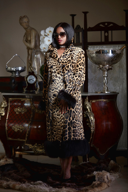 Fantastic vintage jaguar fur coat.