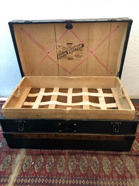 Louis Vuitton Steamer Trunk circa 1895