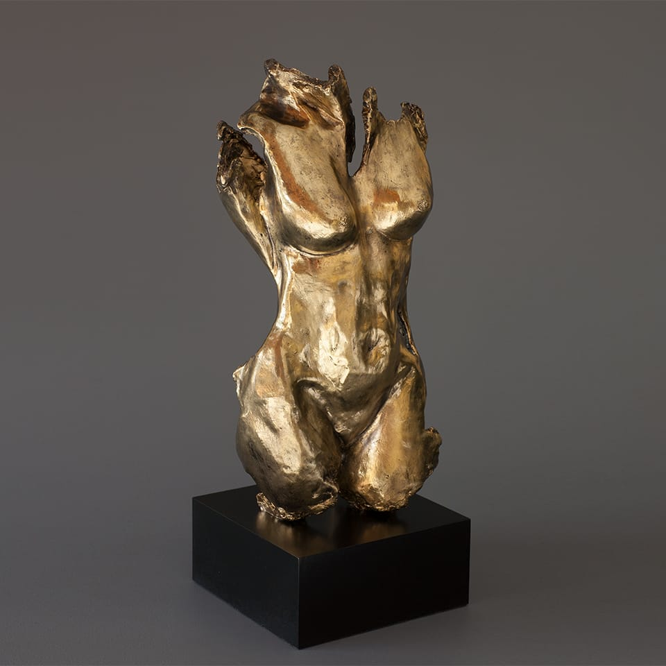 """Sophia"" - Bronze sculpture by Antonio Da Silva"