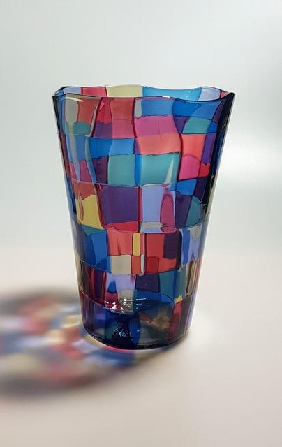 Fulvio Bianconi (1915-1996) Pezzati model 4910 vase, 1981